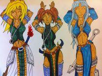 The Three Gales by ladykeara
