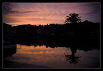 Sunset in colours, Croatia, Dalmatia, Hvar by zaklina