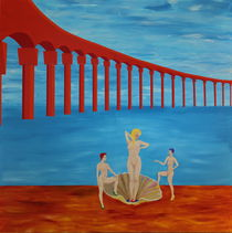 Ponte rouge - Geburt der Venus by Lutz-Rüdiger Hoffmann