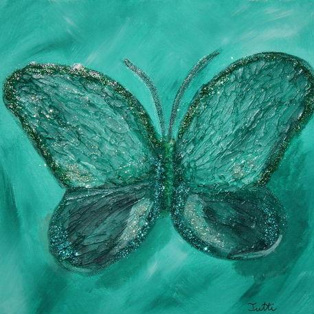 Schmetterling-grn-30-x-30-x-4-cm-2011-bild-2