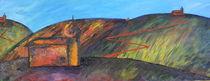 Landschaft mit Kirchen von Lutz-Rüdiger Hoffmann