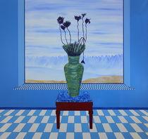 Fenster mit Vase - Weite by Lutz-Rüdiger Hoffmann