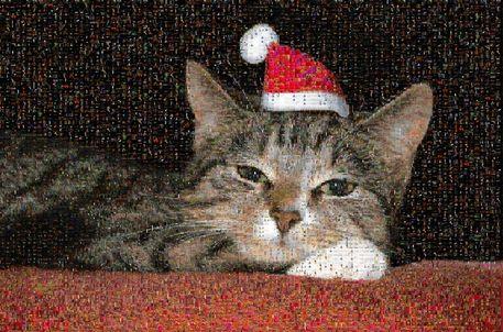 Weihnachtscindymosaik