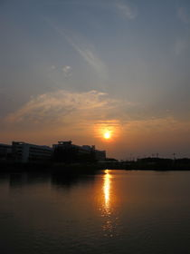 sunset by Nara Thada