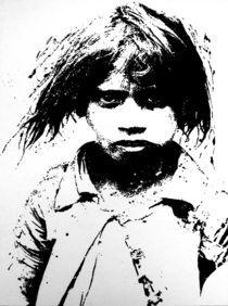 Indisches Mädchen von Ewald Müller