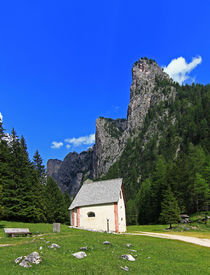 Kapelle im Tal von Wolfgang Dufner