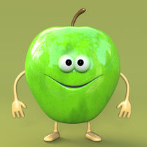 GREEN APPLE von Michel Agullo