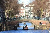 Amsterdam Canals and Bridges von crisspix