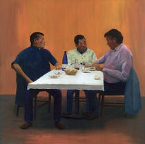 Table For Three von Peter Worsley