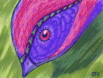Ornitología imaginaria 01 by Mikel Cornejo Larrañaga