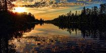 Sunset on Emajõgi von Andero Sepp