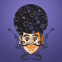 moustache by dean-valentino