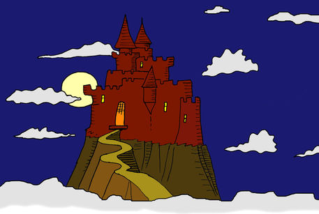 Russian Castles Drawing Castle-cartoon