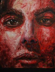Self portrait(Red) by Panagis Antypas