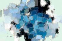 Rhapsodie in bleue von Guy GRESSER