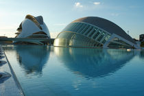 Valencia, Hemisfèric und Palau de les Arts von Frank Rother