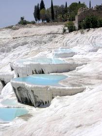 [Turkey] - Calcium Terraces at Pamukkale von Dave ten Hoope