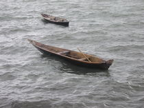 [Zanzibar] - Small dhows von Dave ten Hoope