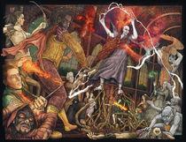 Battle of Hogwarts by Richard Moore