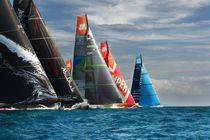 Volvo Ocean Race start von Xaume Olleros