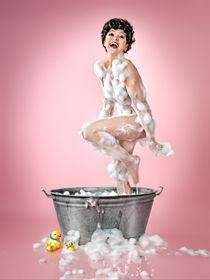 funny bath. von René de Brunn