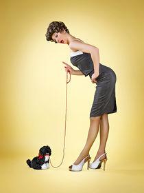 dogs lesson. by René de Brunn