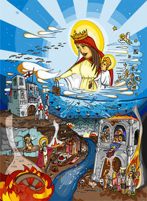 Virgen del Monte Carmelo by Rai Alacreu