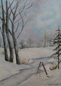 Winterlandschaft by G.Elisabeth Willner