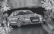 Audi A4 Winterwallpaper von Shelley Singh
