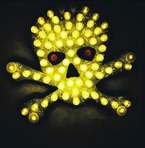 Neon Skull von Giorgio Giussani