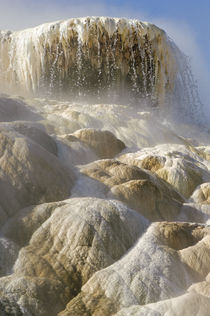 Mammoth Hot Springs Terraces by Barbara Magnuson & Larry Kimball