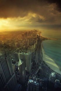 Chicago storm by Paul Segsworth