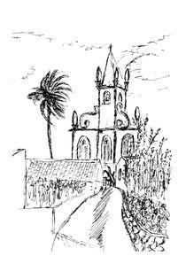 Igreja da Lomba, Flores Island, Azores 2007  von Javier Alcázar