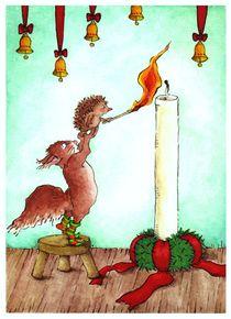 Weihnachten - Eine Kerze im Advent von Katja Kiefer