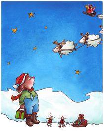 Weihnachten - Wo sind die Rentiere? von Katja Kiefer