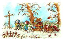 Weihnachten - Der Weihnachtsmann ist ein Hase von Katja Kiefer