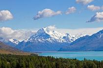 Lake Pukaki, Neuseeland by timberworld