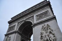 Arc de triomphe de l'Étoile/Arc de Triomphe/Triumphbogen (Paris) by huiwen chen