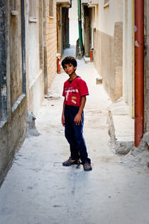 Child from the Balata refugee camp in Nablus by Riccardo Valsecchi