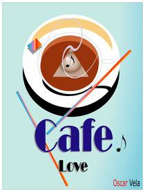 Cafe Love 2 von Oscar Vela