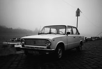 vintage car by Giorgio Giussani