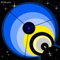 Optische Astronomie, Reflektor. by Bernd Vagt