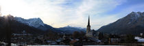 Partenkirchen Panorama by axvo-fotografie