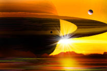 Saturns ferner Bruder. von Bernd Vagt