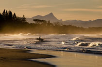 Mt Warning, Byron Bay von Michael Brownjohn