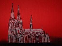 """Pastellbild """"Kölner Dom"""" by Anke Franikowski"""