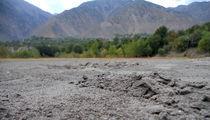 Sand at the river bank by Muhammad Humayun Khan