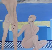Zwei Frauen by Lutz-Rüdiger Hoffmann