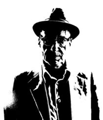 William S Burroughs by laughingindio
