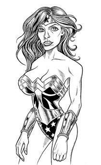 Wonder Woman by laughingindio